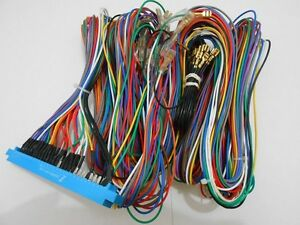 jamma harness cable set 5 9 ft long 56 pin edge board ebay. Black Bedroom Furniture Sets. Home Design Ideas