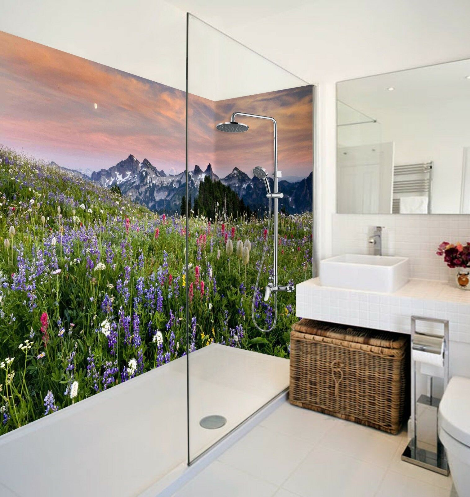 3D Sky Field Nature 67 WallPaper Bathroom Print Decal Wall Deco AJ WALL CA Carly