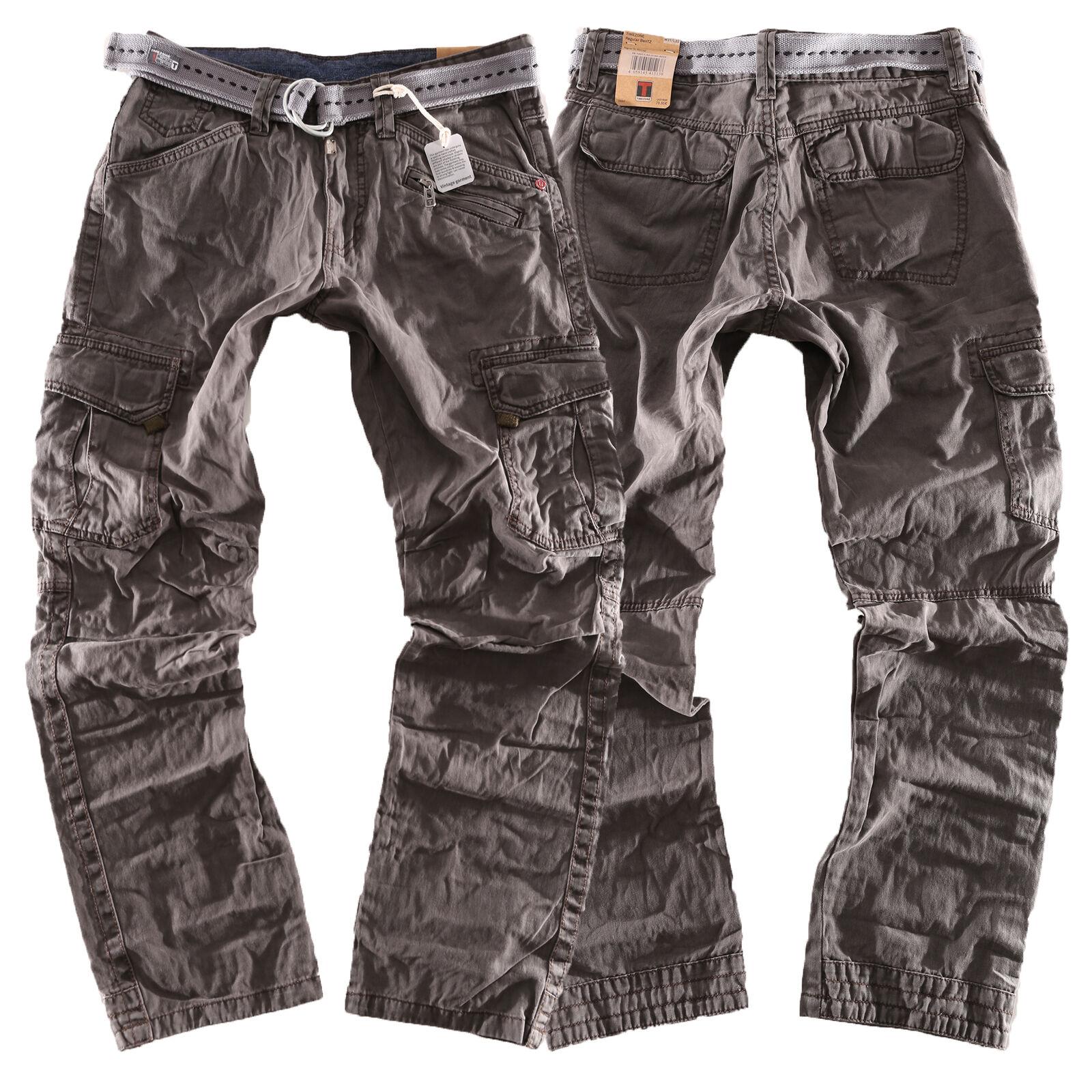 Timezone Cargo Jeans Hose Ben Regular 9033  Größen wählbar New LA    eine breite Palette von Produkten