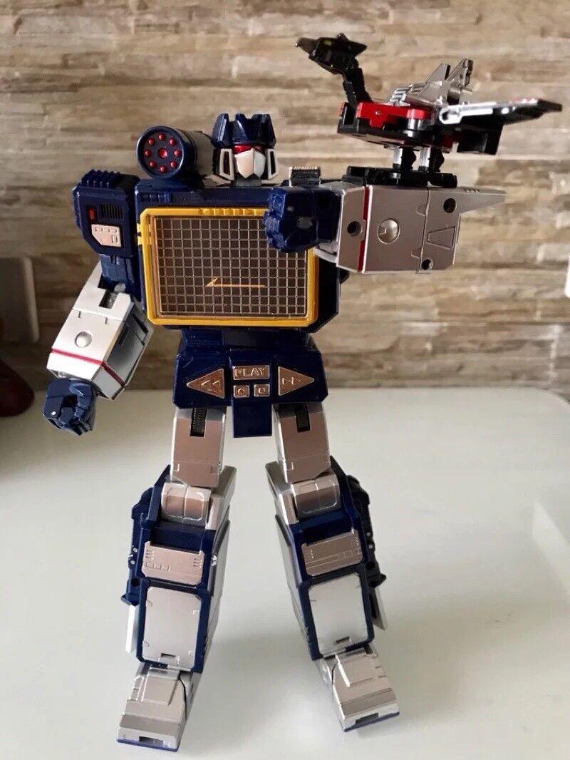 tienda de ventas outlet Transformers  MP KO Soundwave Laserbeak + Figura Figura Figura De Acción Juguete-THF  centro comercial de moda