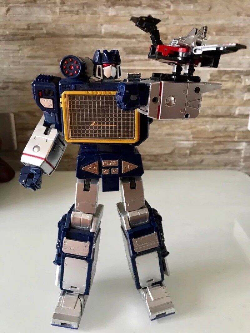Transformers  MP KO Soundwave + Laserbeak Action Figure Toy - THF