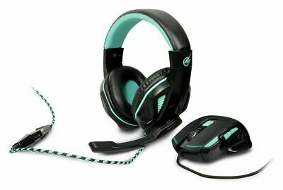 arokh h-1 headset & x-1 optical mouse gaming pack