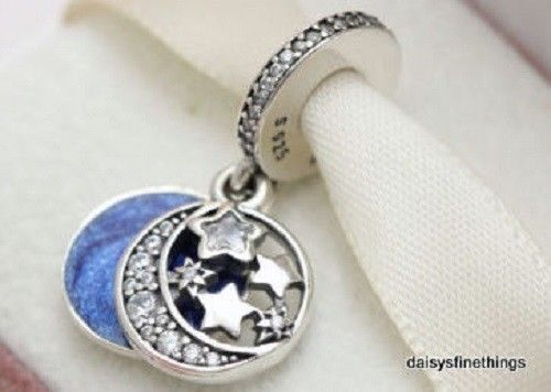 a40d6e372 Original PANDORA Element Charm 791993CZ Vintage Night Sky 925 Silber for  sale online | eBay