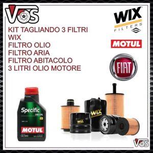 KIT-TAGLIANDO-iFILTRI-OLIO-MOTUL-5W40-FIAT-PANDA-1-2-NATURAL-POWER