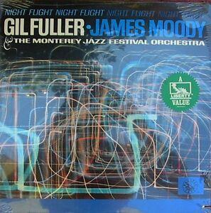 Gil-Fuller-James-Moody-Sealed-US-Reissue-LP-Night-flight-Pacific-Jazz