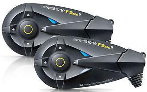 INTERFONO-INTERPHONE-CELLULAR-LINE-F3MC-F3-MC-TWIN-kit-doppio-Mp3-WP-Bluetooth