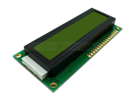 3.3V 16x1 Character LCD Module Display w//Tutorial,HD44780,Bezel,Backlight