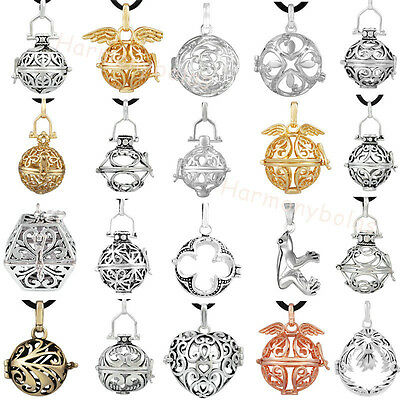 Chime Ball Pendant Harmony Ball Angel Caller Pendant Silver Plated lockets