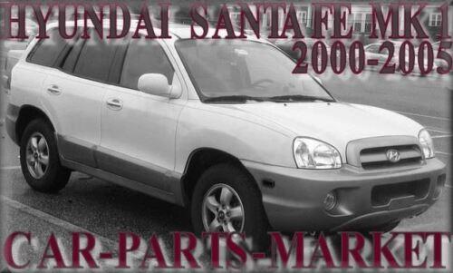 Derecho Lado Del Conductor Ala Puerta Espejo De Vidrio Plano Para Hyundai Santa Fe 2000-2005