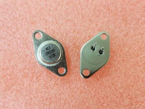 2+Tab TO-66 1X NJS 2N6295 Darlington NPN 80V 8A 3-Pin