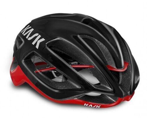 M:52-58cm. L:59-62cm KASK Protone Road Cycling Aero Helmet Black//Red