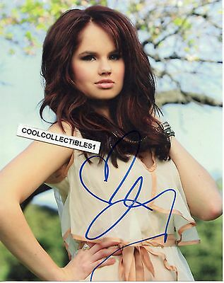 "Gentle Debby Ryan ""jessie"" In Person Signed 8x10 Color Photo Autographs-original Television"