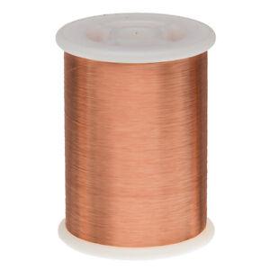 43 awg gauge enameled copper magnet wire 10 lbs 66092 length image is loading 43 awg gauge enameled copper magnet wire 1 keyboard keysfo Choice Image