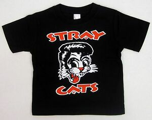STRAY-CATS-Baby-Infant-T-shirt-Rockabilly-Rock-And-Roll-Tee-6M-12M-18M-24M-New