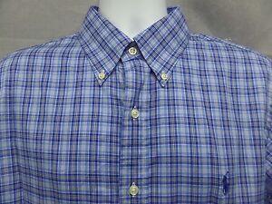 New-Ralph-Lauren-Checked-Shirt-Mens-Size-Large-L-Retail-98