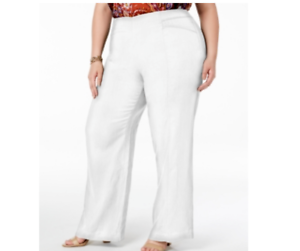 Details about I.N.C. Plus Size Wide-Leg Pants MSRP $74 Size 16W # 9B 391 NEW