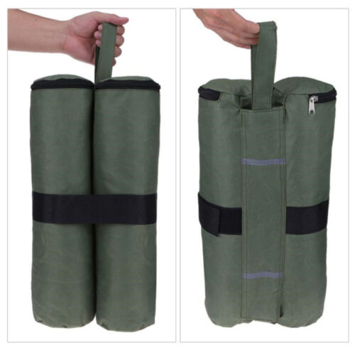 4pc Canopy Tent Leg Bags Weights Pop Up Heavy Duty Sand Bag Anchor Patio Outdoor