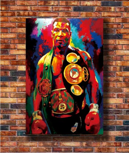 Hot Fabric Poster Mike Tyson Boxer Boxing Sports 36x24 30x20 40x27inch Z981