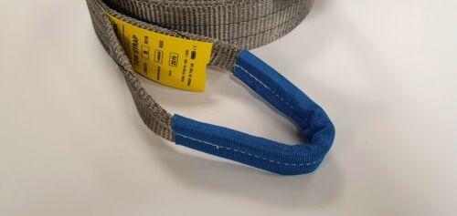 RECOVERY WINCH 4x4 TOWING//TOW ROPE STRAP 8M OFFROAD 14TON