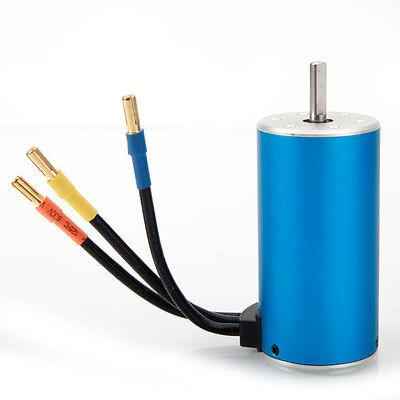 3670 2650KV 4Poles Sensorless Brushless 1600W  Motor for 1/8 RC Car New