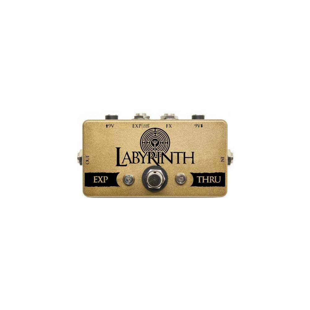 Coppersound Labyrinth Signal Router Pedal