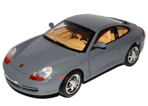 Porsche 911 996 carrera Coupe gris marengo 1997-2006 1//18 Motormax modelo auto mié