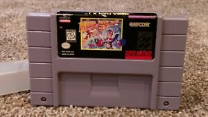 Mega-Man-X3-III-3-Three-Super-Nintendo-SNES-Capcom-Video-Game-Lot-Authentic