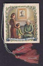 CALENDARIETTO 1948 ASSOC. NAZ. CONGIUNTI dei DISPERSI in GUERRA pocket calendar