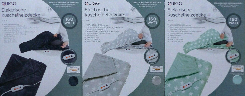 Elektrische Kuschelheizdecke-Automatische Abschaltung-Überhitzungsschutz*NEU/&OVP