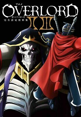 Art Book Anime Overlord II III Complete Design Materials from Japan F//S New