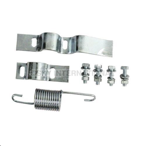 Vespa Center Stand Bracket /& Fixing Nut Bolt Kit Px Lml