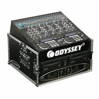 Odyssey Fr1004 Flight Ready 10x4 Space Dj Amp Effects Rack Case