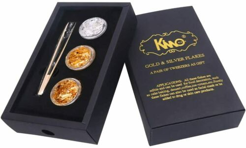 Edible 24K Gold Flakes Pure Genuine Gold Flakes for Cake Baking,Cake Decoration