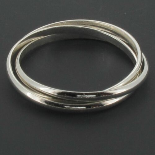 Sterling Silver Russian Wedding Ring by Touch Jewellery 925 Choose Your Size