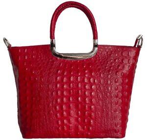 Sac-pour-Femme-en-cuir-imprime-croco-5-couleurs-main-en-Italie-BC123