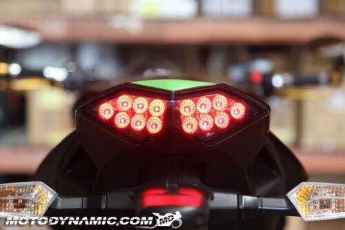 2010-2013 Kawasaki Z1000 Versys 11-19 Ninja 1000 SEQUENTIAL LED Tail Light SMOKE