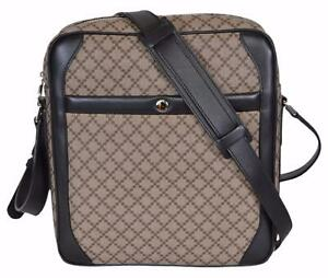 38792beae NEW Gucci Men's $995 268159 Diamante Plus Coated Canvas Crossbody ...