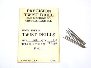12 ptd precision twist drill 68 0310 wire gauge drill bits image is loading 12 ptd precision twist drill 68 0310 wire keyboard keysfo Image collections