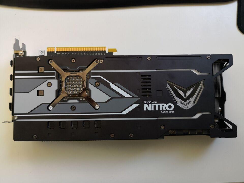 Vega 64 AMD Sapphire Nitro+ Vega 64, 8 GB RAM, Perfekt