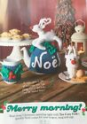 KNITTING PATTERN Christmas Reindeer Tea Cosy Mug Hug Egg Cosy Noel Festive MAKE