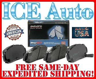 Disc Brake Pad Set-ProACT Ultra Premium Ceramic Pads Front Akebono ACT1286