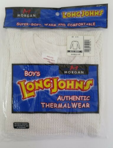 Morgan Mills Tops Botttoms Thermal Underwear Blue White Gray Light Gray XS L XL