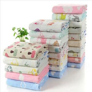 Muslin Toddler Blanket Extra Soft Baby Summer Stroller ...
