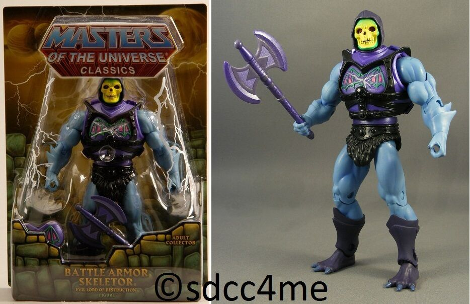 MOTU Classics Battle Armor Skeletor New Sealed Masters of the Universe Figure