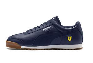 PUMA-homme-Ferrari-Motorsport-SF-Roma-Bleu-Baskets-Baskets-Chaussures-New