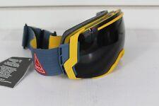 2016 Smith I/O7 Ski Snowboard Goggles IO7 Mustard Conditions Blackout Lens