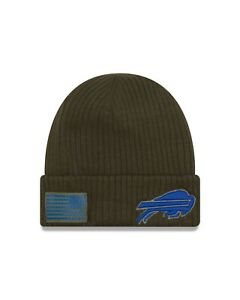 cheap for discount 736ca 98d4c Image is loading Buffalo-Bills-New-Era-2018-Salute-To-Service-