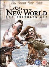 The New World  - German and English DVD - Collin Farrell, Christopher Plummer