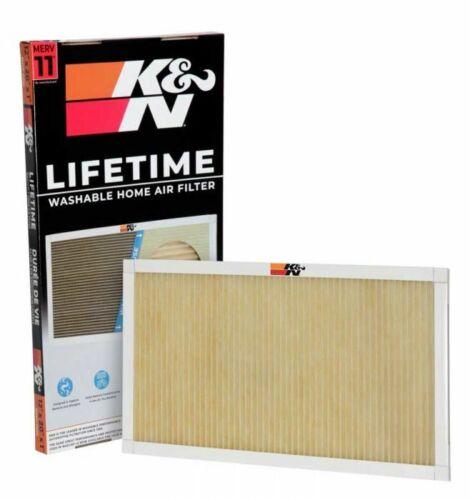 HVC-12025-20x25x1 HVAC K/&N Home Air Filter