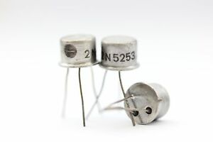 2N5253 TRANSISTOR NOS( New Old Stock ) 1PC. C328U10F130514